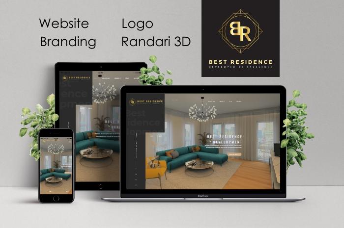 Website braning Randari 3d
