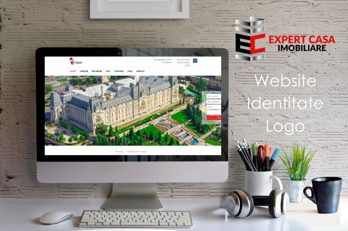 Website identitate logo