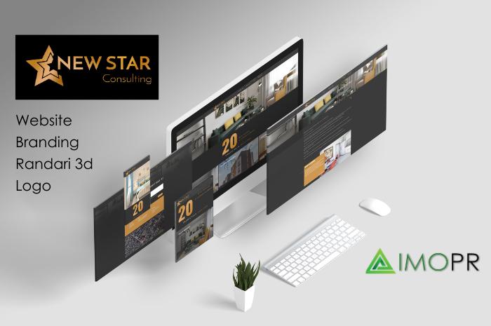 Website braning Randari 3d Logo