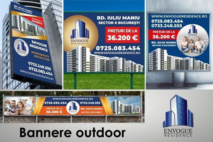 Envogue Residence - Bannere Outdoor